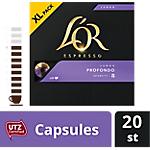 Dosettes de café L'OR   20 Unités de 5.2 g