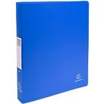 Classeur Exacompta 2 anneaux 16 mm PP A4 Bleu