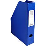 Porte revues pliables   Exacompta   Dos 7 cm   PVC bleu