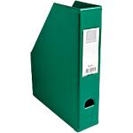 Porte revues pliables   Exacompta   Dos 7 cm   PVC vert
