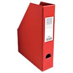 Porte revues pliables   Exacompta   Dos 7 cm   PVC rouge