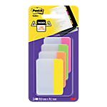 Marque Pages Post it Rigides 5,1 x 3,8 cm Assortiment   24 Unités de 6 Bandes