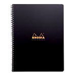 Cahier à spirale Rhodia Rhodiactive Notebook A4+ Quadrillé Assortiment   80 Feuilles