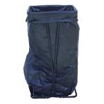 Porte sac à déchets Acier Viso Noir