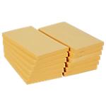 Notes adhésives Office Depot 76 x 127 mm Jaune pastel   12 Unités de 100 Feuilles