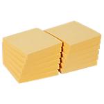 Notes adhésives Office Depot 76 x 76 mm Jaune pastel   12 Unités de 100 Feuilles