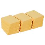Notes adhésives Office Depot 38 x 50 mm Jaune pastel   12 Unités de 100 Feuilles