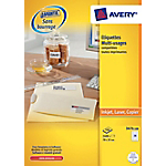 Étiquettes multifonctions Avery Blanc 2400 étiquettes 2400 étiquettes