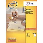 Étiquettes multifonctions Avery Blanc 1600 étiquettes 1600 étiquettes
