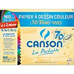 Papier couleur Canson Mi teintes vives 160 g