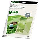 Pochettes transparentes pour plastification à chaud   Leitz iLam UDT   Format A4   80µm   25 unités