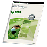Pochettes transparentes pour plastification à chaud   Leitz iLam UDT   Format A3   80µm   25 Unités