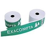Bobines caisses Exacompta Papier thermique sans BPA 80 mm x 80 mm x 12 mm x 76 m   10 Unités