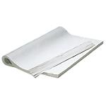 Feuilles de papier mousseline 75cm (H) x 50cm (l) Blanc   500 Unités