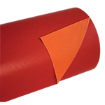 Papier cadeau réversible 100m (L) x 700mm (l) Rouge, orange