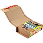 Étuis livres Carton ColomPac 21,5 (H) x 30,2 (l) x 8 (P) cm Marron   20 Unités