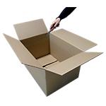 Caisse carton GPV 350 x 250 x 200 mm Kraft   10 Unités