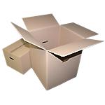 Caisse carton GPV 350 (l) x 275 (P) x 300 (H) mm Kraft   10 Unités