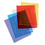 Protège cahier Calligraphe Cristalux A5 Bleu
