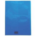 Protège cahier Calligraphe Cristalux A4 Bleu