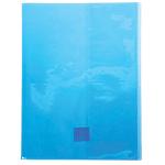 Protège cahier Calligraphe Calligraphe Cristalux A4+ Bleu