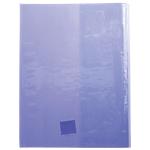 Protège cahier Calligraphe Calligraphe Cristalux A4+ Violet