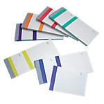 Blocs vendeurs ELVE assortiment de 6 couleurs Bleu, jaune, rouge, orange, violet, vert   10 Unités