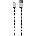 Câble T'nB Micro USB 2 m Noir, Blanc