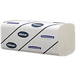 Essuie mains Kleenex Ultra 2 épaisseurs Pliage en M Blanc   30 Unités de 124 Feuilles