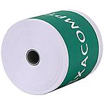 Bobines CB + caisses Exacompta Papier thermique sans BPA 57 mm x 60 mm x 12 mm x 44 m   10 Unités