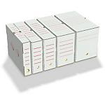 Boîtes archives Smurfit Kappa 100 mm 25 cm Blanc, rouge 50 Unités