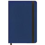Carnet couverture rigide ligné Foray Bleu foncé A4 Ligné Sans perforation 160 Pages   80 Feuilles
