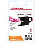 Cartouche jet d'encre Office Depot Compatible Brother LC1240M Magenta