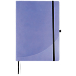 Cahier Foray A4 6348510 Similicuir Violet   96 Feuilles