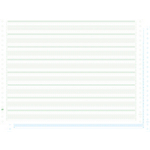 Papier listing Vert Exacompta 38 x 27,94 cm 63612E