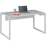 Bureau droit Gautier Office Sunday 1 600 x 800 x 730 mm Gris