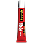 Tube de colle Scotch X Forte Rouge