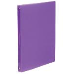 Classeur cahier Propyglass Viquel 25 mm Polypropylene translucide 4 anneaux A4 Violet
