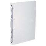 Classeur cahier Propyglass Viquel 25 mm Polypropylène translucide 4 anneaux A4 Transparent