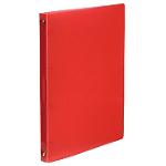 Classeur cahier Propyglass Viquel 25 mm Polypropylene translucide 4 anneaux A4 Rouge
