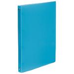 Classeur cahier Viquel 4 anneaux Polypropylene translucide A4 Bleu