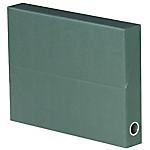 Boîtes transfert Exacompta Nature Line 34 x 5 x 25,5 cm Vert 5 Unités
