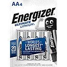 Piles lithium Energizer Ultimate AA   4 Unités