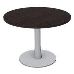 Table ronde London 730 x 730 mm Imitation wengé