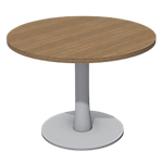 Table ronde London 730 x 730 mm Imitation noyer