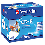 CD R enregistrable Verbatim 700 Mo 52x 10 Unités