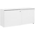 Crédence à portes coulissantes Gautier Office Top Line 450 mm Blanc
