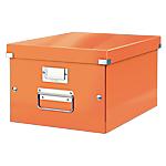 Boîte de rangement Leitz Click & Store Orange 28,1 cm
