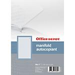 Manifold autocopiant Office Depot Tripli A5 57 g
