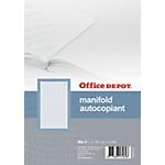 Manifold autocopiant Office Depot Dupli A5 57 g